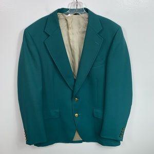 Mens Vintage Green Cricketeer Sports Coat 42R